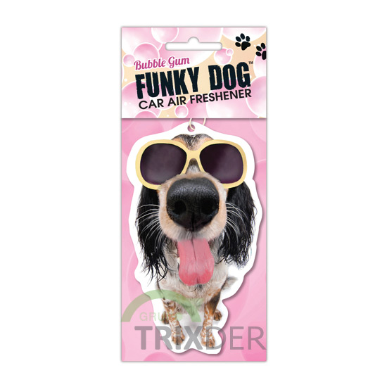 Ambientador Funky Dog Air Fresh, Chicle